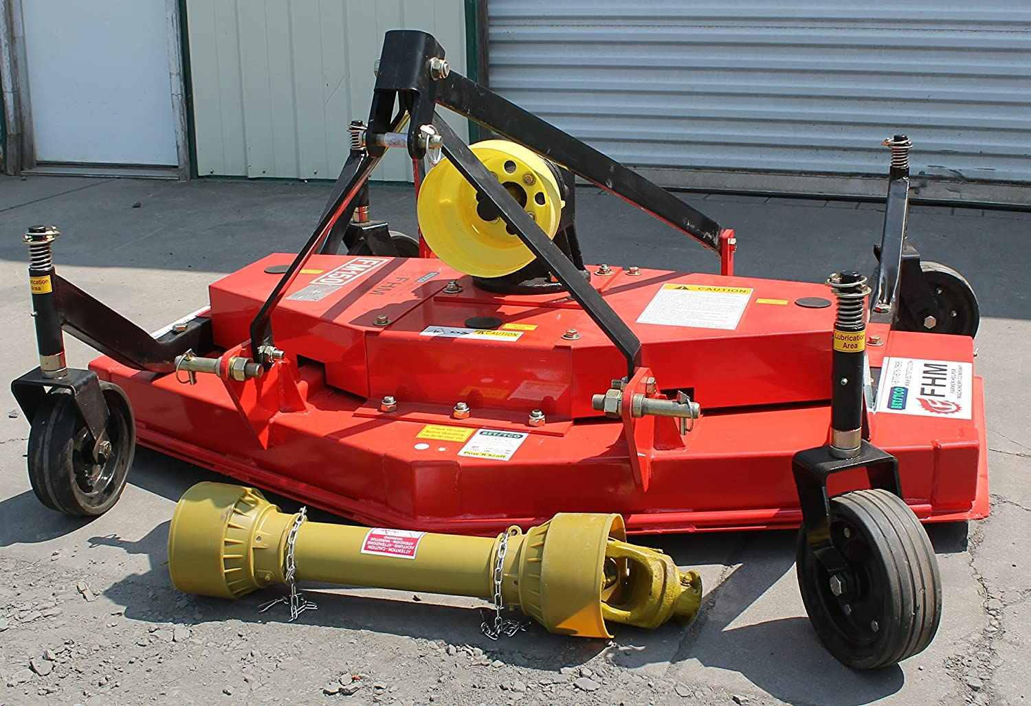 Farmer Helper 5 Foot Finish Mower Cat.I 3pt 16 HP Rating FH-FM150