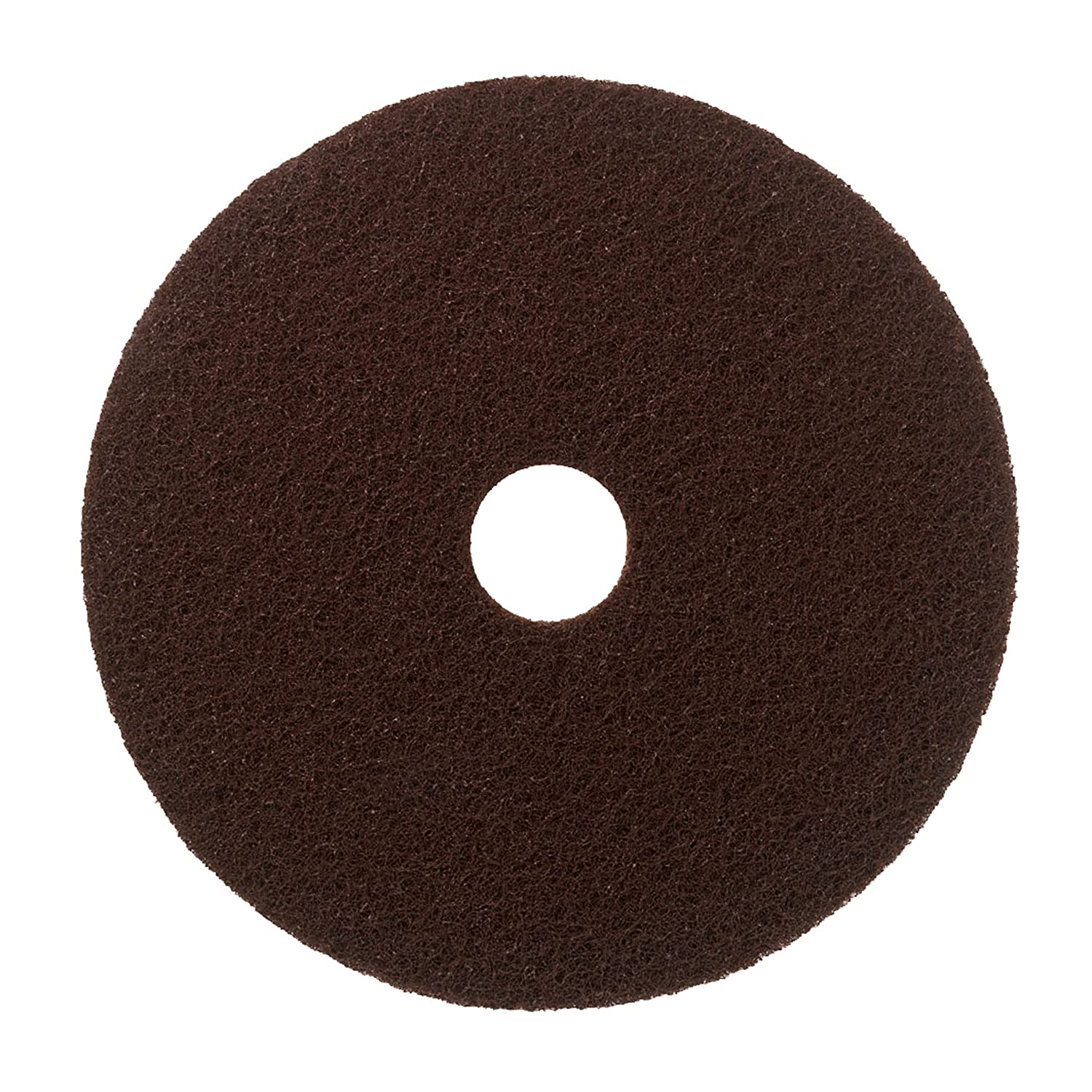 Scotch-Brite™ Floor Pads, Brown, 330 mm, 5/Case 3M 7000077568