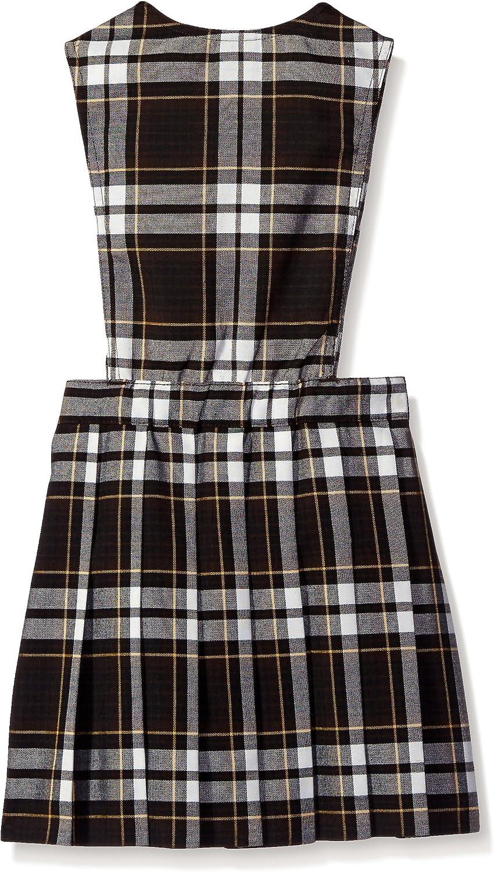 French Toast Girls Plaid V-Neck Jumper School Uniform Dress