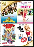 Super Troopers / There's Something About Mary / Grandma's Boy / The Girl Next Door Quad Feature
