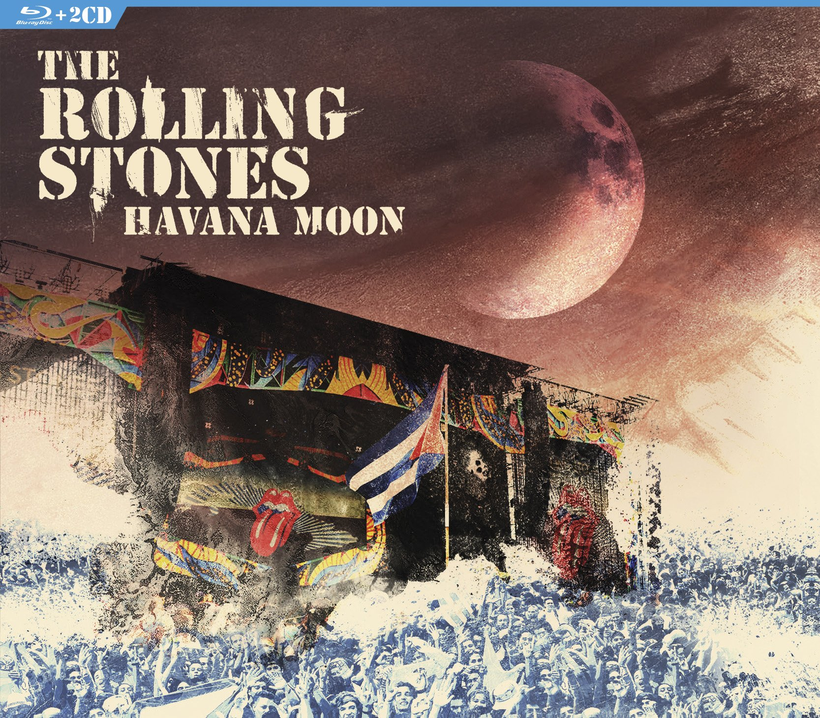 Blu-ray : The Rolling Stones - Havana Moon (With CD, 3 Disc)