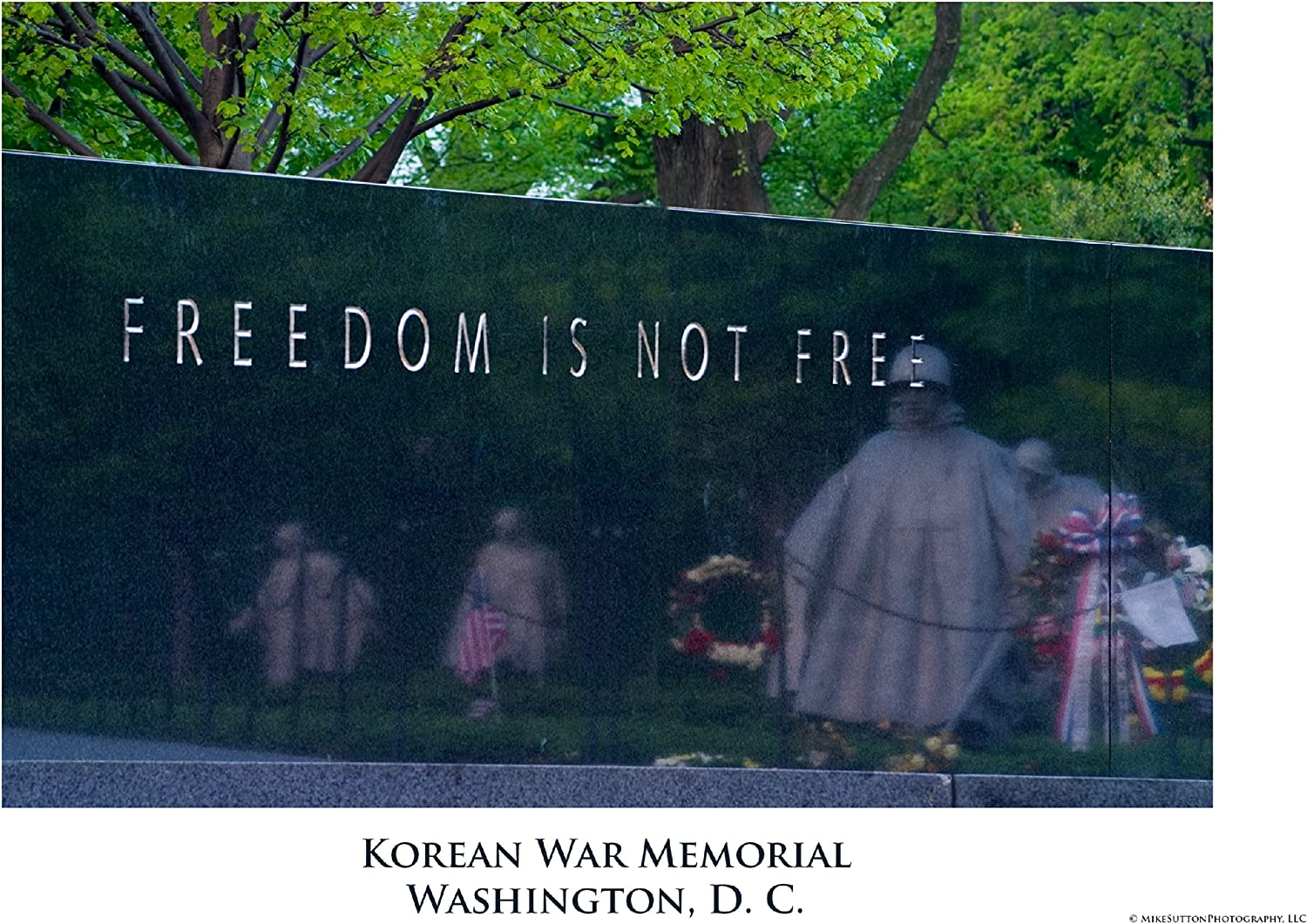 Amazon Com Mikesuttonphotography Com Freedom Is Not Free Korean War Memorial Photographs Photographs
