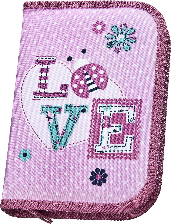Scooli- Nein Stabilo Ladybug - Estuche Escolar, Color Rosa. (Undercover LBUG0443): Amazon.es: Juguetes y juegos