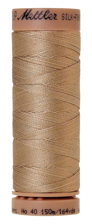 Mettler Silk-Finish 40 Weight Solid Cotton Thread, 164 yd/150m, Sandstone 9136-1222