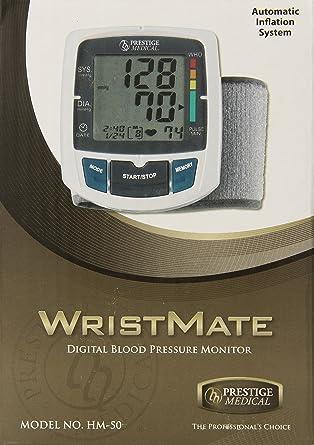 Prestige Medical HM-50 - Monitor de presión digital de muñeca