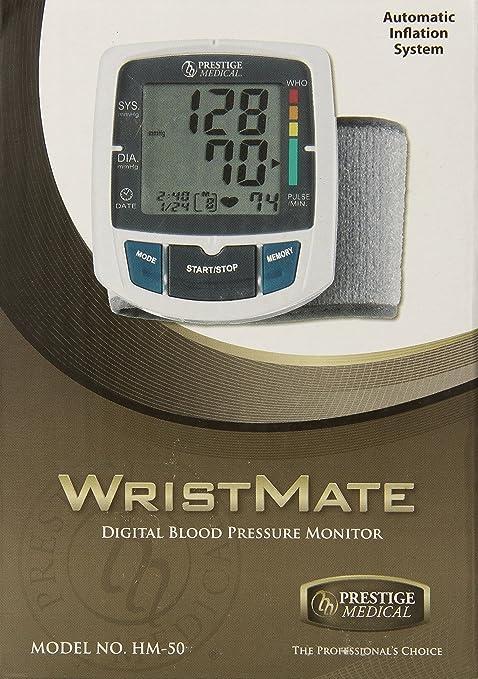 Prestige Medical HM-50 - Monitor de presión digital de muñeca: Amazon.es: Industria, empresas y ciencia