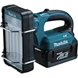 Makita BML360 - Linterna (Hand flashlight, Fluorescente, Negro, Turquesa, Ión de litio)