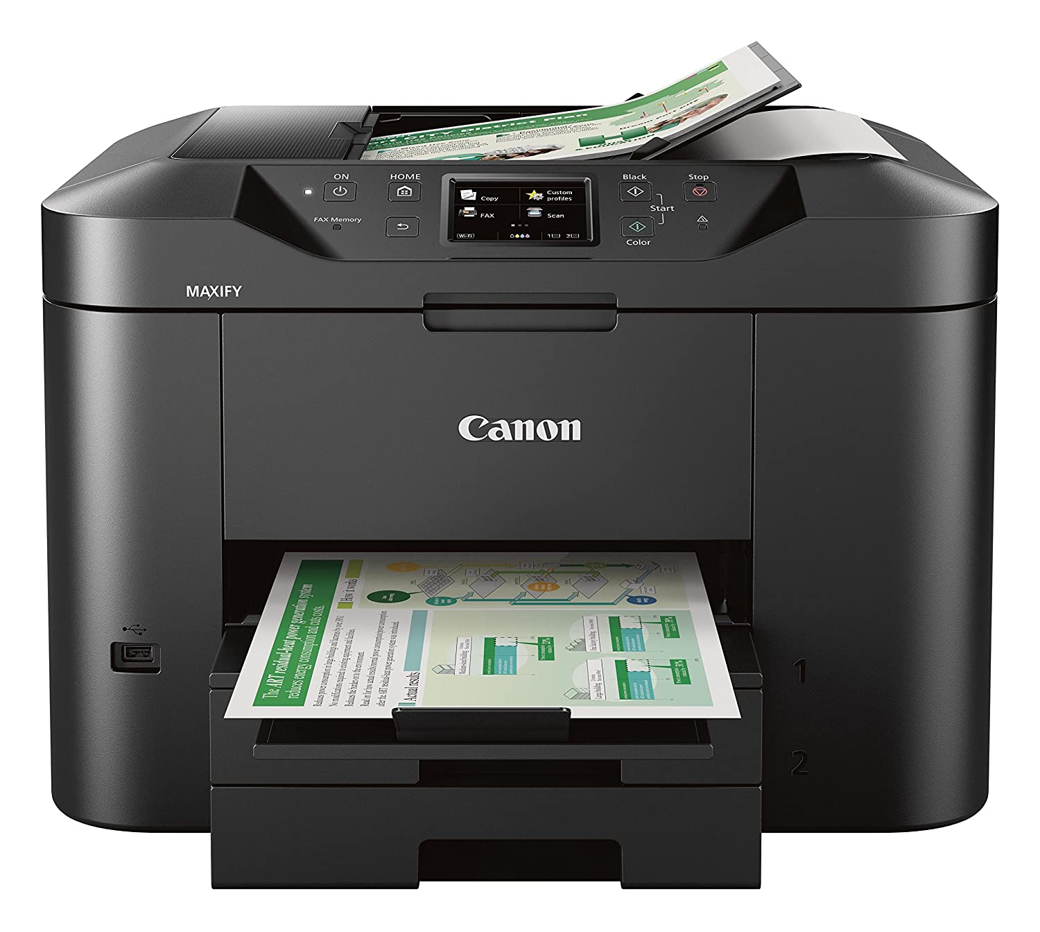 amazon com canon office and business mb2720 wireless all in one