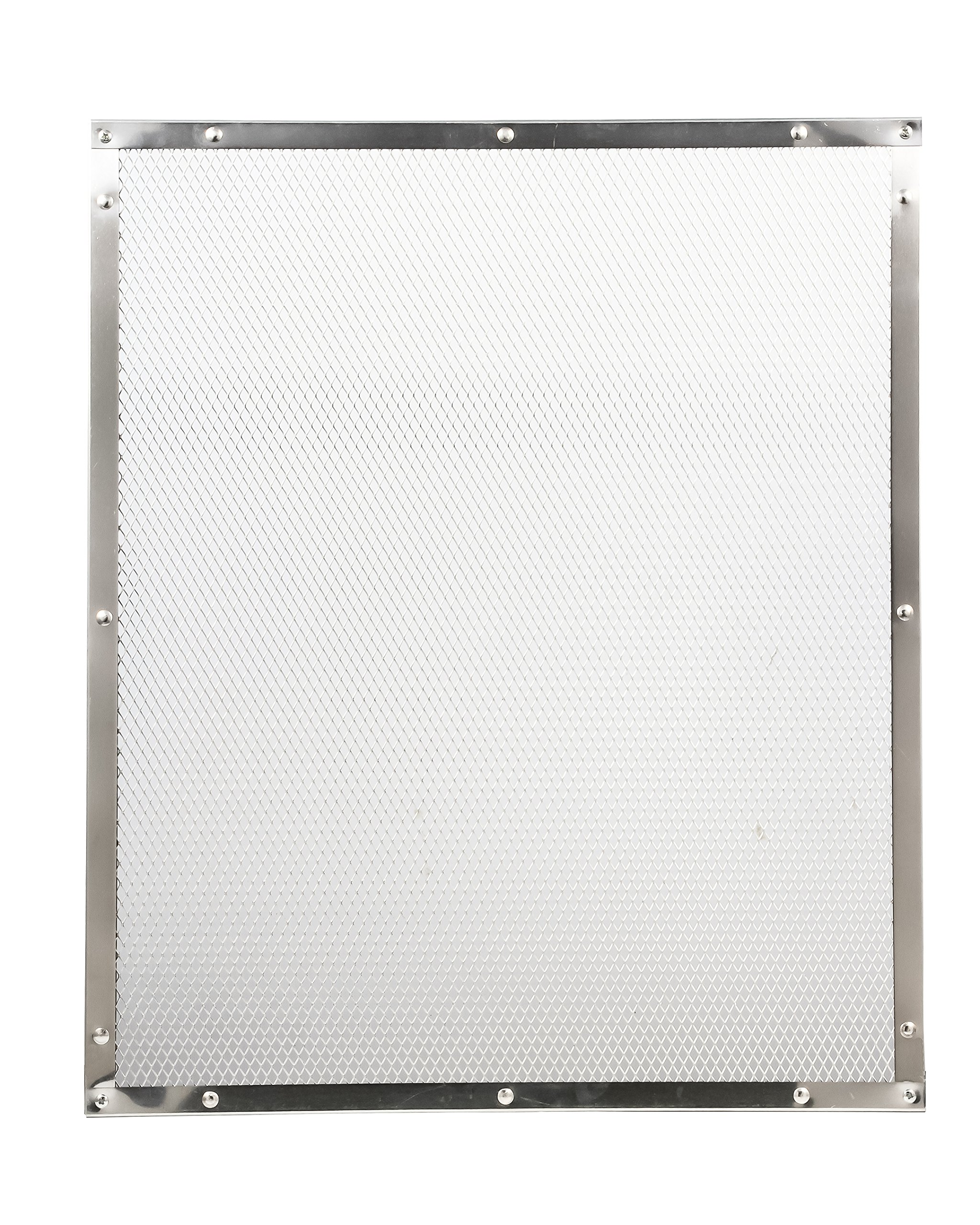 Camco 43981 Aluminum Screen Door Standard Mesh Grille - Protects Your RV's Screen Door, Anodized Aluminum Will Not Corrode by Camco (Image #2)