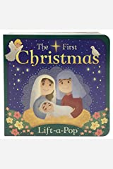 The First Christmas: Lift-a-Pop Board Book Board book