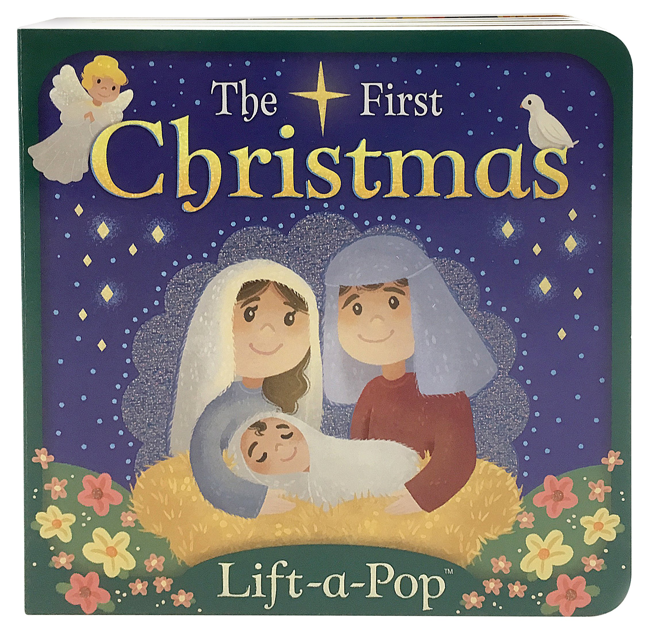 The First Christmas.Amazon Com The First Christmas Lift A Pop Board Book