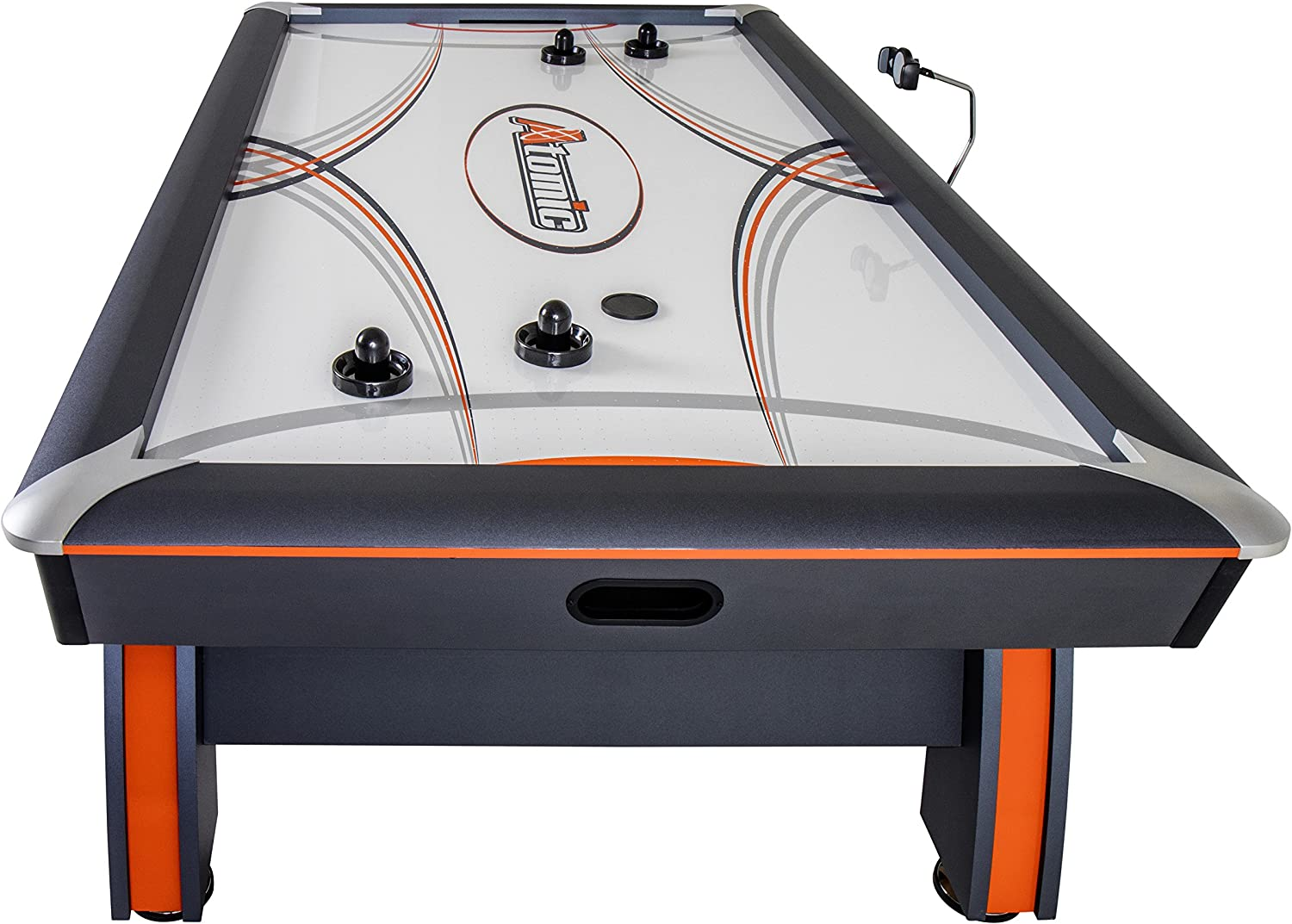 Atomic 7.5' Contour Air Powered Hockey Table with ScoreLinx Mobile App Technology : Sports & Outdoors