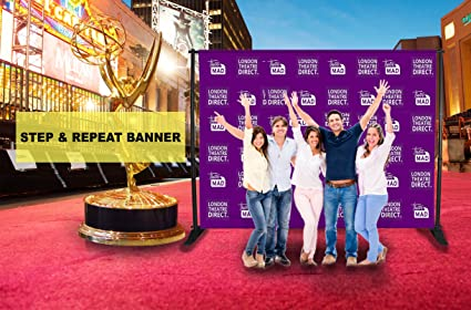 Amazon custom vinyl step and repeat banners ft ft