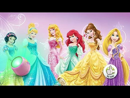 Philips Disney Tischleuchte, 4,7 W, Princess, mehrfarbig