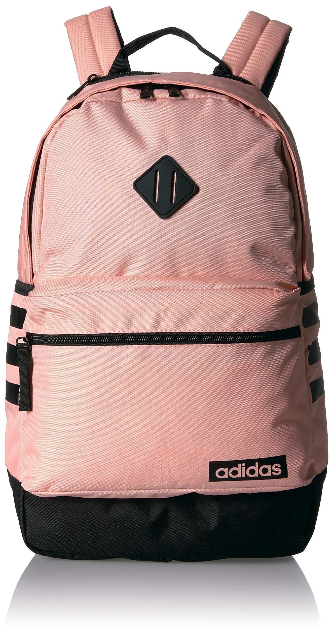 adidas Classic 3s Backpack, Glow Pink/Black, One Size
