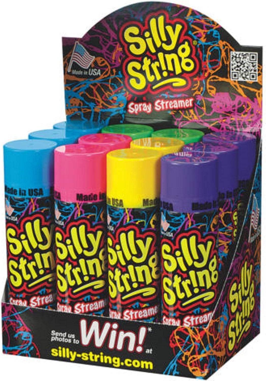 Amazon.com: Latas de Silly String aerosol serpentina (varios ...