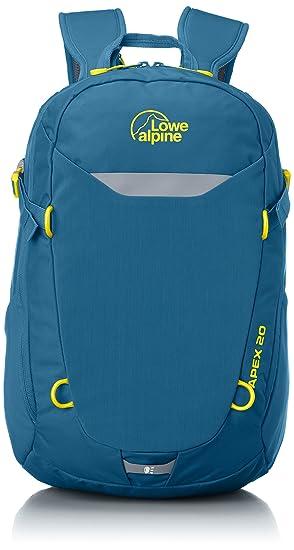 a500ffcb1ed01 Lowe Alpine Apex 20 Daypack - Bondi Blue/Amber, One Size: Amazon.co ...