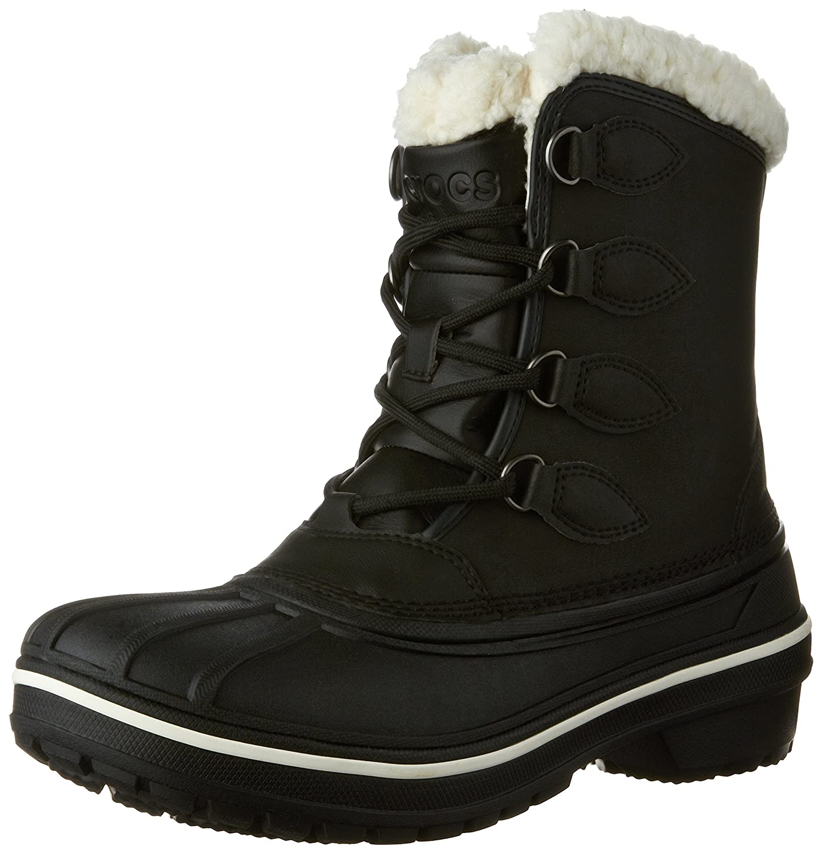 Crocs Women's AllCast II Snow Boot B01A6LOK9E 6 M US|Black
