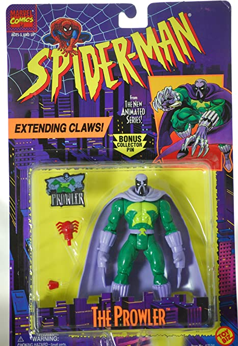Marvel Comics Spider-Man Animated Series Character/'s ToyBiz 1994 NEW Variety