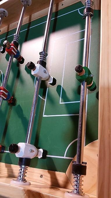 Recreativos Euromatic Futbolin Modelo Madrid: Amazon.es: Juguetes ...