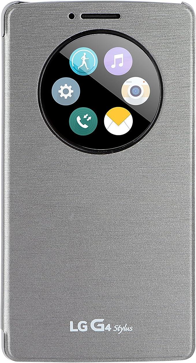 LG G4Stylus Quick Circle - Funda para LG G4 Stylus, color titanio ...