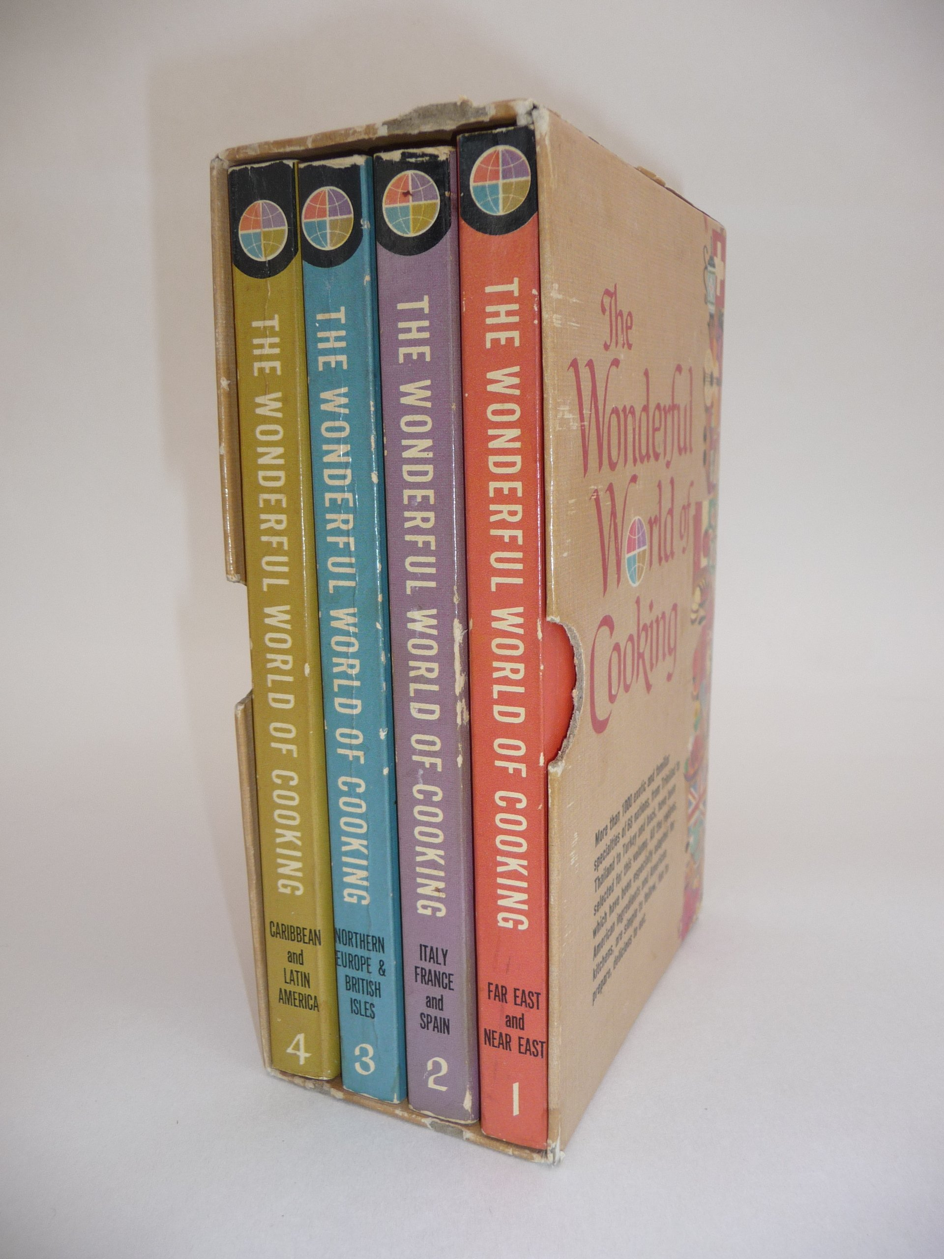 The Wonderful World of Cooking Volumes 1-4 Boxed Set