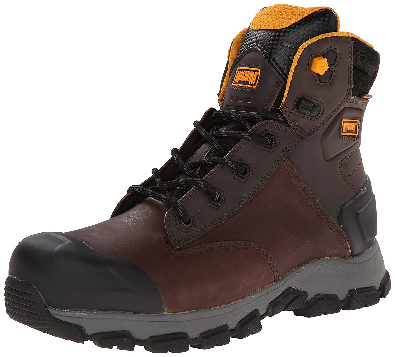 11122f31d7e Amazon.com: Magnum Men's Baltimore 6.0 Comp Toe Waterproof Work Boot ...