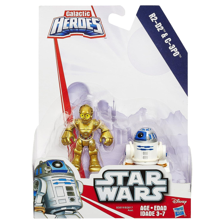 Amazon Playskool Heroes Star Wars Galactic Heroes R2 D2 and C