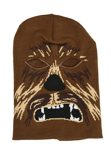 Amazon.com  Star Wars CHEWBACCA Character Knitted SKI MASK Beanie Hat   Everything Else 4ff3fbd735f