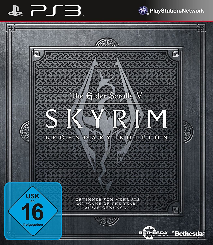 The Elder Scrolls V Skyrim Legendary Edition Game Of Year Playstation Network 200 3 Games