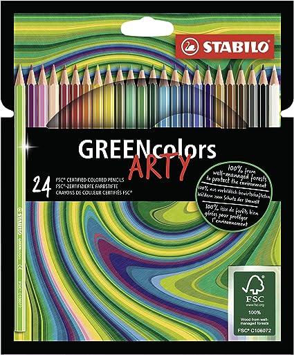 STABILO aquacolor 36er Pack mit 36 verschiedenen F Aquarell-Buntstift