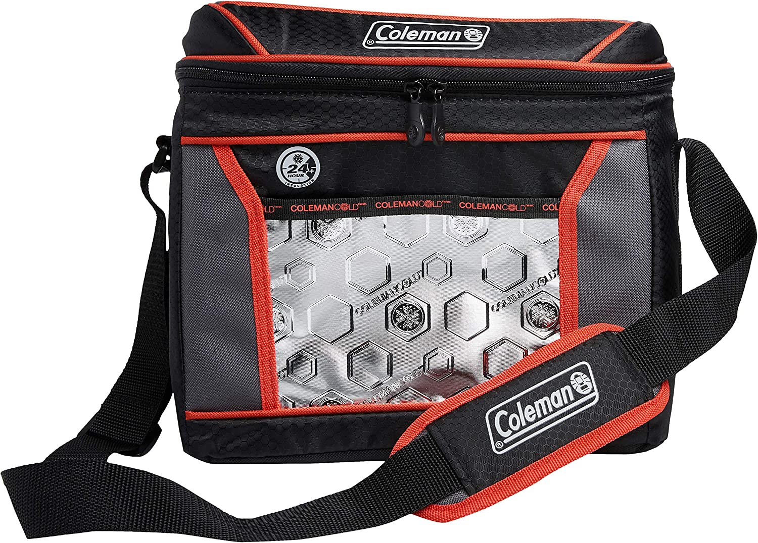 Coleman NCAA Soft-Sided Insulated Cooler Bag 16-Can Capacity University of Maryland