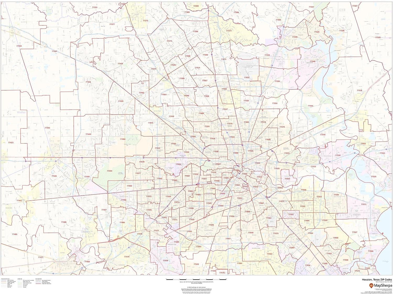 Amazon.com : Houston, Texas Zip Codes - 48\