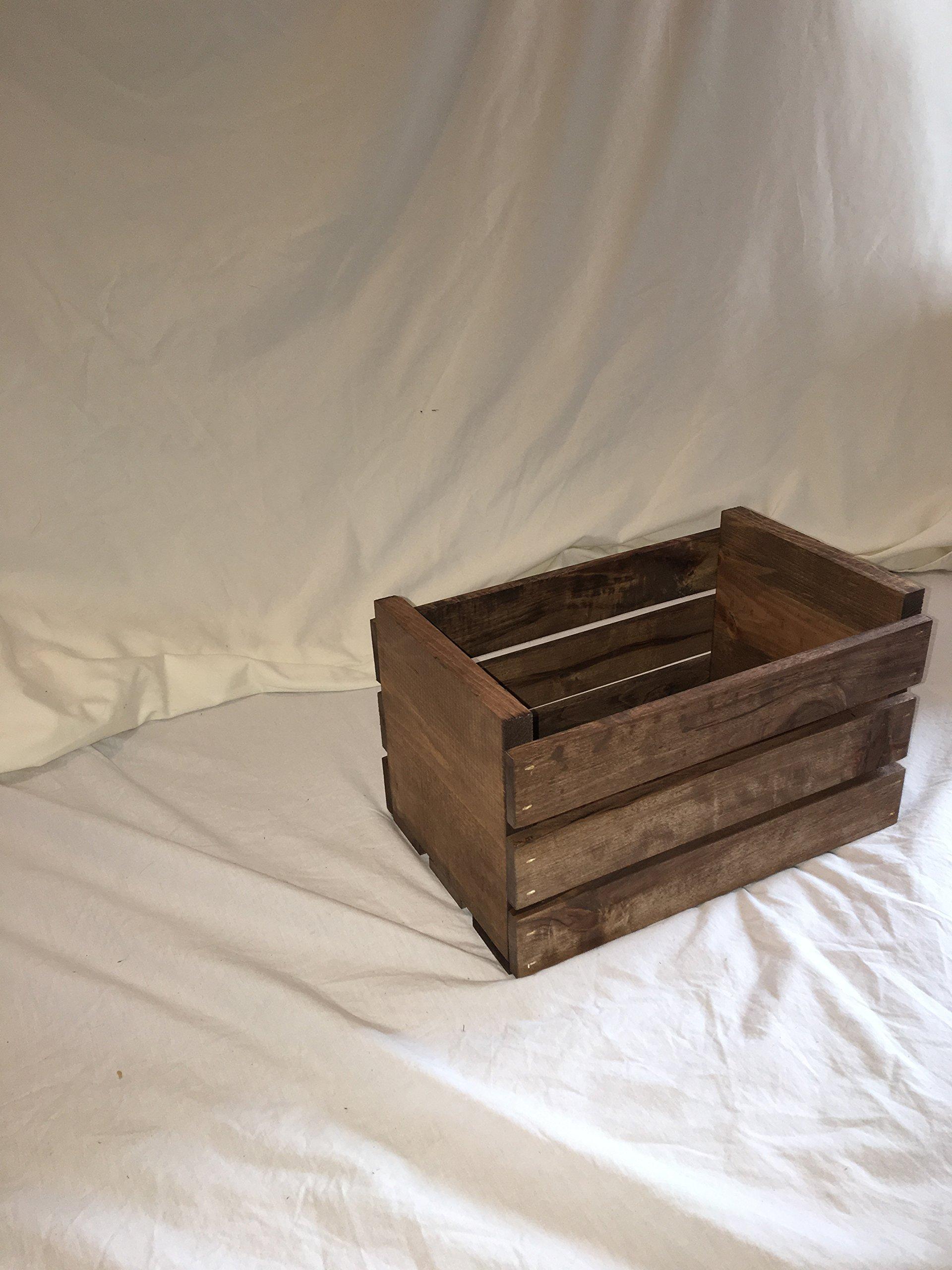 Darla'Studio 66 45 RPM Vinyl Record Storage Wood Crate