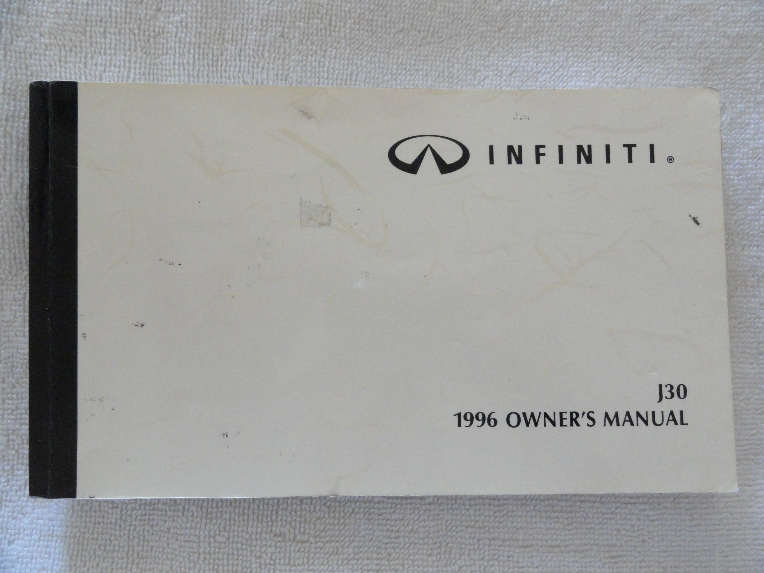 1996 infiniti j30 j 30 owners manual infiniti amazon com books rh amazon  com 1993 Infiniti 1996 infiniti g20 service manual pdf