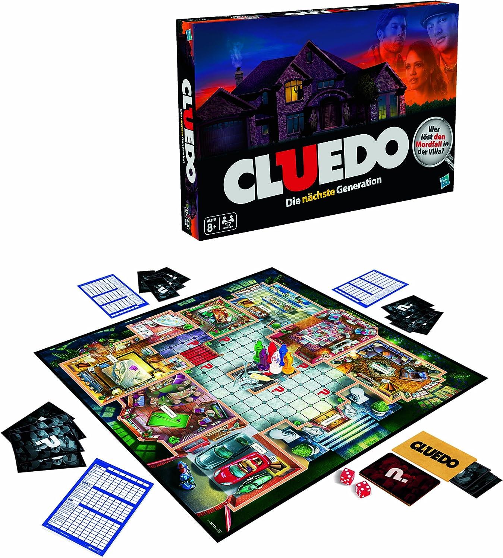Hasbro Cluedo - Juego de Misterio 38712103 (versión en Italiana): Amazon.es: Juguetes y juegos