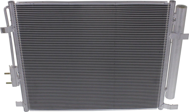 Kool Vue AC Condenser For 2013-2016 Hyundai Santa Fe w//drier