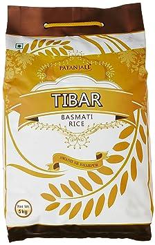 Patanjali Tibar Basmati Rice, 5kg