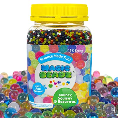 Magic Beadz - Jelly Water Beads Grow Many Times Original Size - Fun for All Ages - Large Size - Over 30,000 Beads: Toys & Games