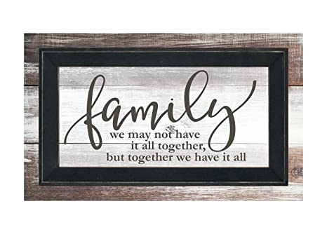 Amazon.com: Familia no tenemos it all together pero juntos ...