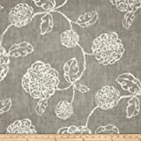 Magnolia Home Fashions Adele Slate Fabric By The Yard