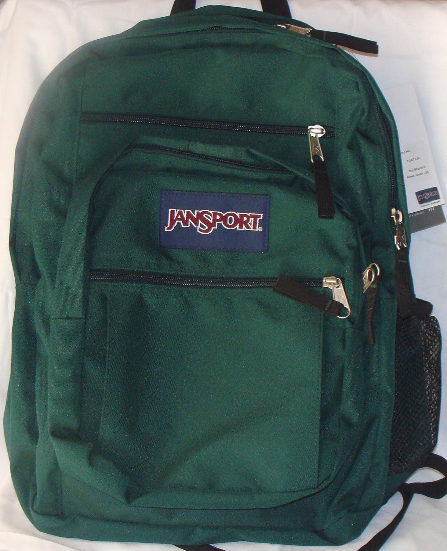 discount super cheap custom Amazon.com: Jansport Big Student Backpack Forest (Green ...