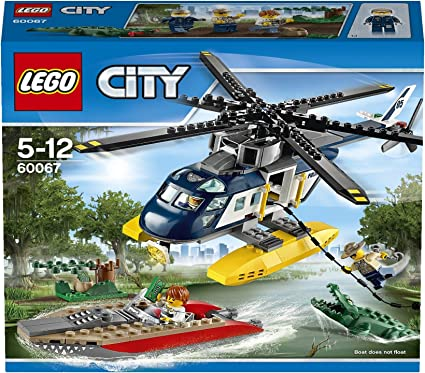 LEGO City Police - Persecución en helicóptero (60067
