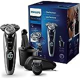 Philips Series 9000 S9711/32 Rasoio Elettrico Wet&Dry con Lame di Precisione, Include Regolabarba e Sistema di Pulizia SmartClean