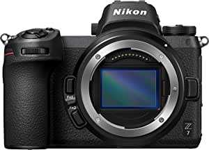 Nikon Z7 Full-Frame Mirrorless Interchangeable-Lens Camera with 45.7MP Resolution, Body
