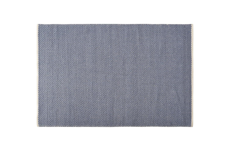 Creative Carpets Teppich Naturfaser, Jute, blau, 200 x 300 x 25 cm