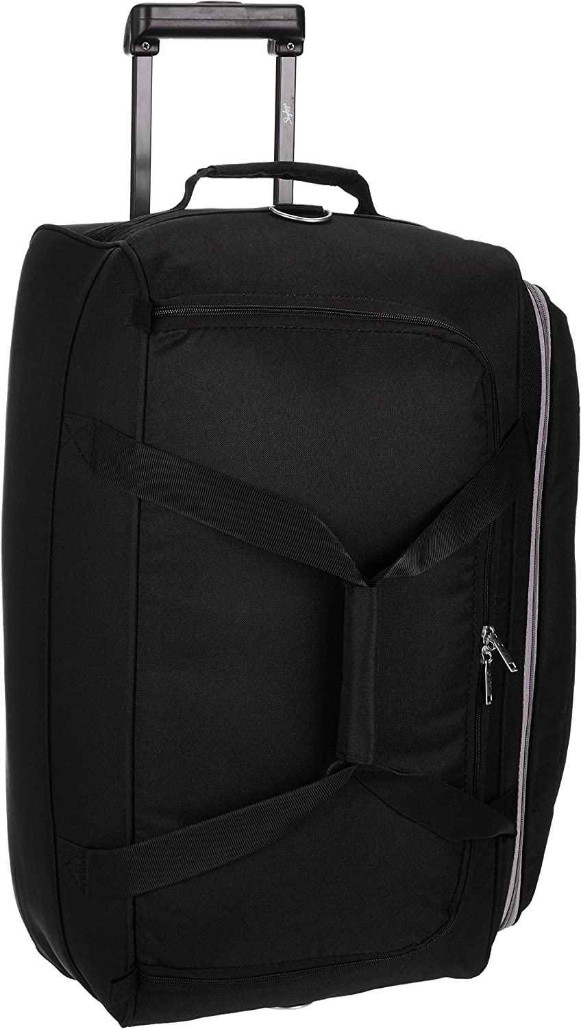 Skybags Cardiff Polyester 62 cms Black Travel Duffle (DFTCAR62BLK)