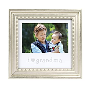 Amazon.com : Lil Peach I Love Grandma Keepsake Sentiment Photo Frame ...