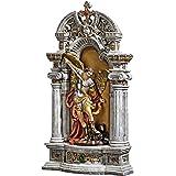 Design Toscano Nische vom Hl. Michael, dem Erzengel, Statue