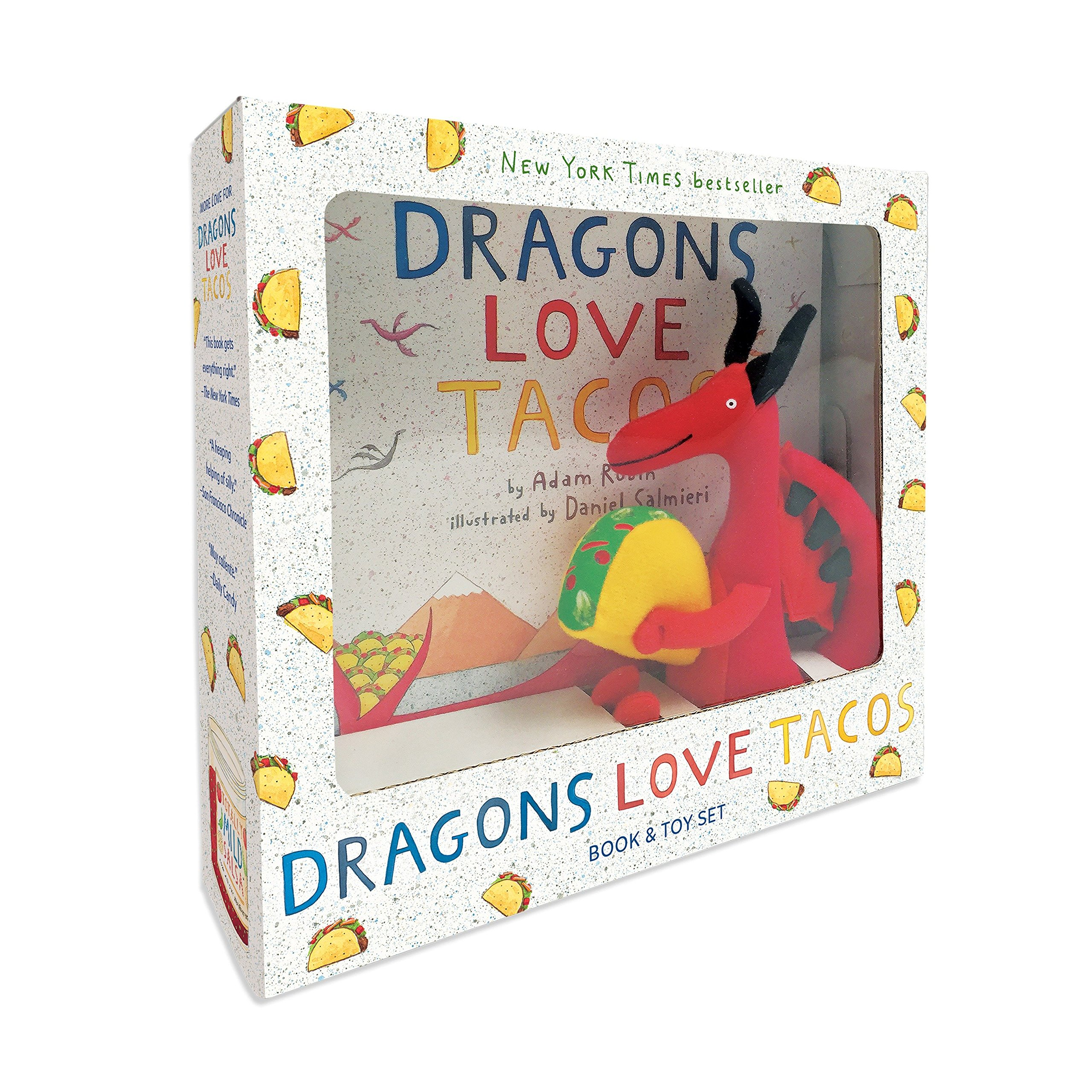 Download Dragons Love Tacos Book and Toy Set pdf epub